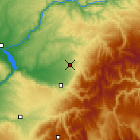 Nearby Forecast Locations - Walla Walla - Map