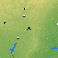 Nearby Forecast Locations - Stevens Point - Map
