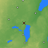 Nearby Forecast Locations - Appleton - Map