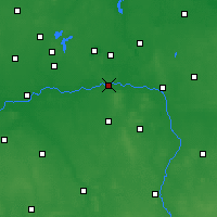Nearby Forecast Locations - Konin - Map