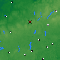 Nearby Forecast Locations - Bytów - Map