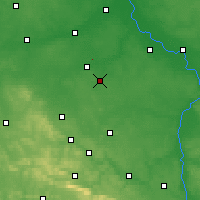 Nearby Forecast Locations - Radom - Map