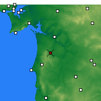 Nearby Forecast Locations - Grândola - Map