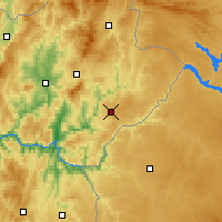 Nearby Forecast Locations - Mogadouro - Map