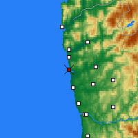 Nearby Forecast Locations - Esposende - Map