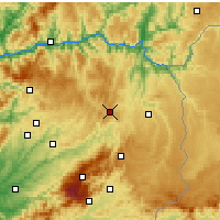 Nearby Forecast Locations - Trancoso - Map