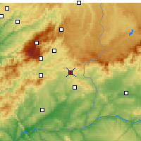 Nearby Forecast Locations - Penamacor - Map