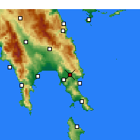 Nearby Forecast Locations - Sykea - Map