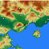Nearby Forecast Locations - Eleftheroupoli - Map