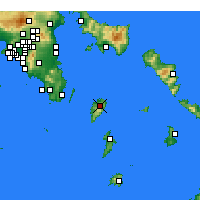Nearby Forecast Locations - Kea - Map