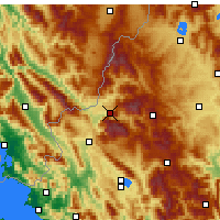 Nearby Forecast Locations - Konitsa - Map