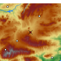 Nearby Forecast Locations - Baza - Map