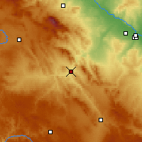 Nearby Forecast Locations - Calatayud - Map