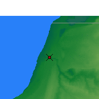 Nearby Forecast Locations - Laayoune - Map
