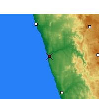 Nearby Forecast Locations - Kleinzee - Map