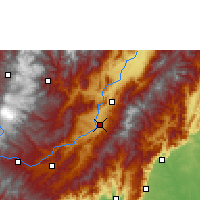 Nearby Forecast Locations - Garzón - Map