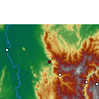 Nearby Forecast Locations - Mutatá - Map