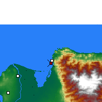 Nearby Forecast Locations - Ciénaga - Map