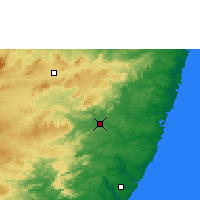 Nearby Forecast Locations - Palmares - Map