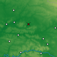 Nearby Forecast Locations - Laon - Map