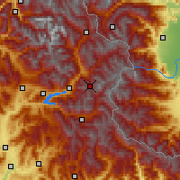 Nearby Forecast Locations - Risoul - Map