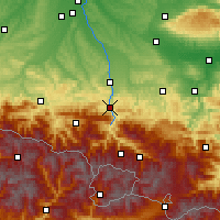 Nearby Forecast Locations - Foix - Map