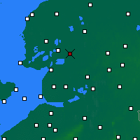 Nearby Forecast Locations - Heerenveen - Map