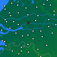 Nearby Forecast Locations - Gorinchem - Map