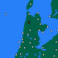 Nearby Forecast Locations - Schagen - Map