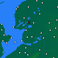 Nearby Forecast Locations - Skarsterlân - Map