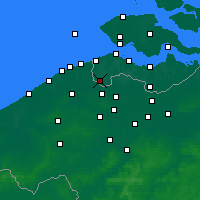 Nearby Forecast Locations - Aardenburg - Map