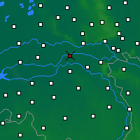 Nearby Forecast Locations - Beneden-Leeuwen - Map