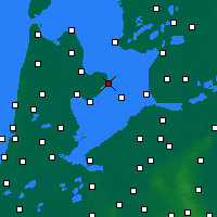 Nearby Forecast Locations - Enkhuizen - Map