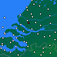 Nearby Forecast Locations - Spijkenisse - Map