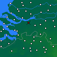 Nearby Forecast Locations - Zevenbergen - Map