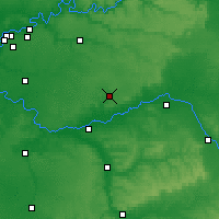 Nearby Forecast Locations - Provins - Map