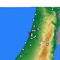 Nearby Forecast Locations - Holon - Map