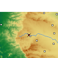 Nearby Forecast Locations - Nashik - Map