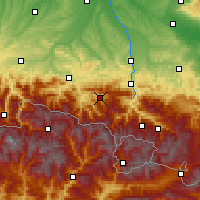 Nearby Forecast Locations - Massat - Map