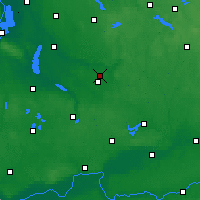 Nearby Forecast Locations - Sułowo - Map
