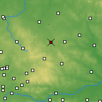 Nearby Forecast Locations - Obiechów - Map