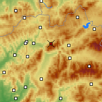 Nearby Forecast Locations - Terchová - Map