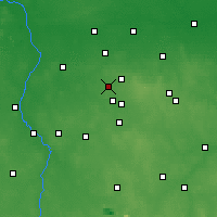Nearby Forecast Locations - Aleksandrów Łódzki - Map