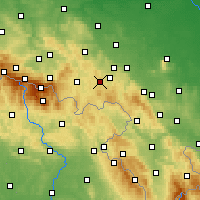 Nearby Forecast Locations - Boguszów-Gorce - Map