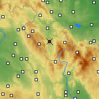 Nearby Forecast Locations - Bystrzyca Kłodzka - Map