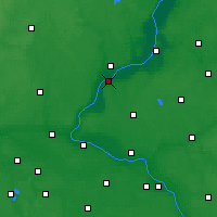 Nearby Forecast Locations - Chełmno - Map