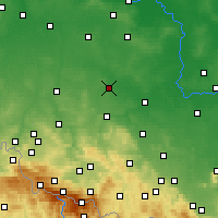 Nearby Forecast Locations - Chojnów - Map