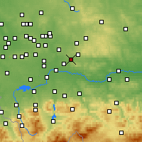 Nearby Forecast Locations - Chrzanów - Map