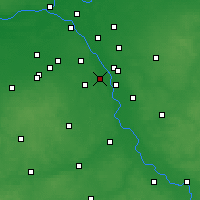 Nearby Forecast Locations - Konstancin-Jeziorna - Map