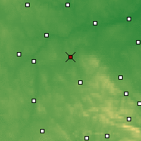 Nearby Forecast Locations - Opoczno - Map